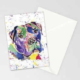 Bull Mastiff Stationery Cards