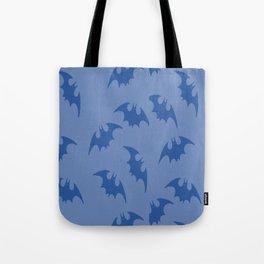 Blue Bats Tote Bag