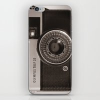 heroes of olympus iPhone & iPod Skins featuring Olympus Trip by LauraWilliams95