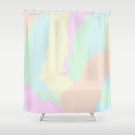 Pastel Punch Shower Curtain