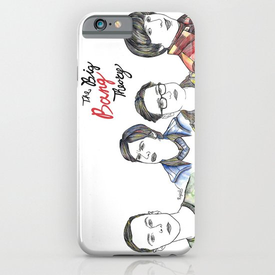 fanart The Big Bang Theory iPhone & iPod Case