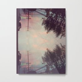 pink cloud dream Metal Print