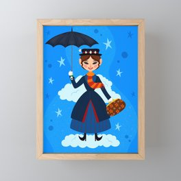 Mary Poppins Framed Mini Art Print