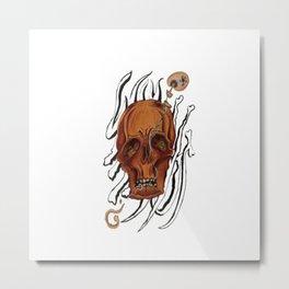"""Why Not"" Metal Print"