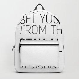 Set Apart #minimalism Backpack