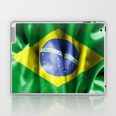 Brazil Flag Laptop & iPad Skin