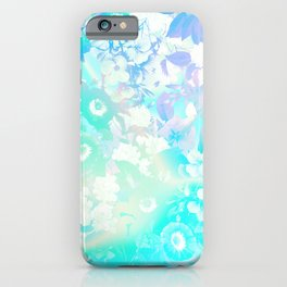 Floral Dream Pastel Hologram iPhone Case