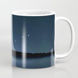 Draco star constellation, Night sky, Cluster of stars, Deep space, Dragonconstellation Coffee Mug