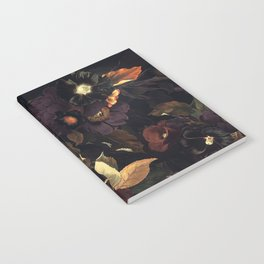 Vintage & Shabby Chic - Flowers at Night Notebook