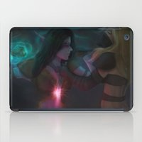 warcraft iPad Cases featuring Last Stand.  by Hallowette