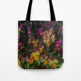 Violas on Table Tote Bag