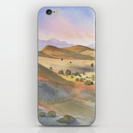 The Foothills of Sierra County iPhone Skin
