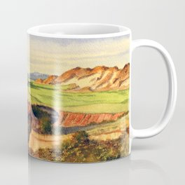 Pacific Dunes - On Bandon Dunes - Golf Course 13th Hole Coffee Mug