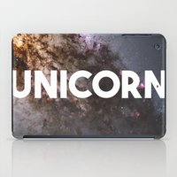 the last unicorn iPad Cases featuring Unicorn by eARTh
