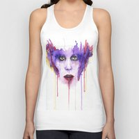 mad Tank Tops featuring MAD by Arthur Braud
