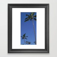 Palm Tree Paradise Framed Art Print