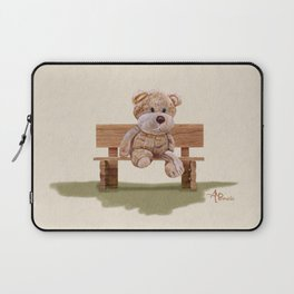 Cuddly At The Park Laptop Sleeve
