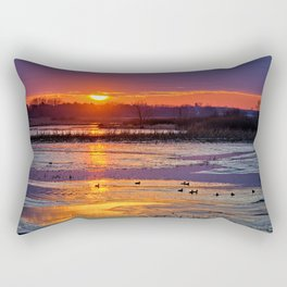 Duck Hole Rectangular Pillow