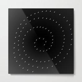 Circular 09 Metal Print