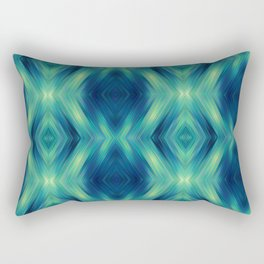 Bermuda Triangle (Pattern) Rectangular Pillow