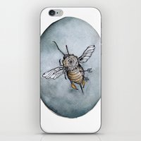 caitlin hackett iPhone & iPod Skins featuring The Queens Last Warrior by Caitlin Hackett