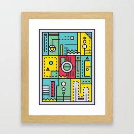 Play on words | Graphic jam Framed Art Print