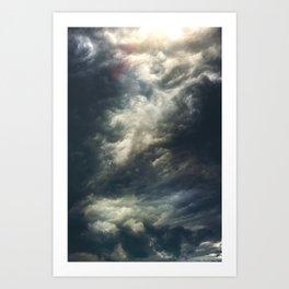 Cloudio di porno II Art Print