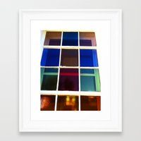 cross Framed Art Prints featuring Cross by Davey Charles