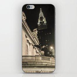 NYC Chrysler Building iPhone Skin