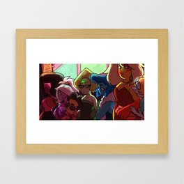 Night out on the Town - Steven Universe Framed Art Print