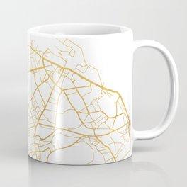 EDINBURGH SCOTLAND CITY STREET MAP ART Coffee Mug