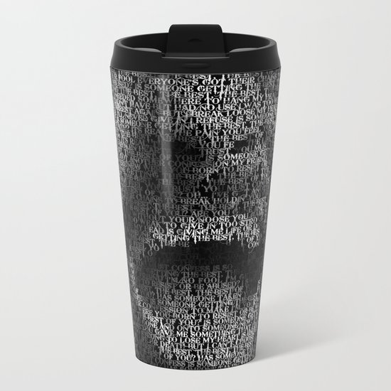 Dave Grohl. Best Of You Metal Travel Mug