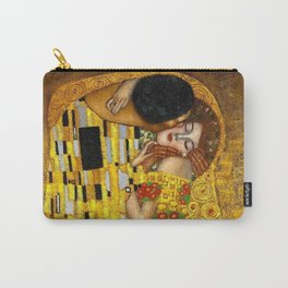 The Kiss Painting Gustav Klimt Carry-All Pouch