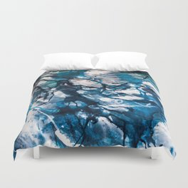 For she is the storm Duvet Cover