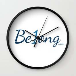 Belong Wall Clock