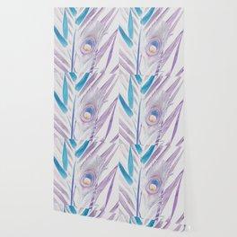 Pastel Peacock Wallpaper