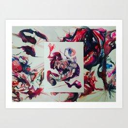 Superimposition Art Print