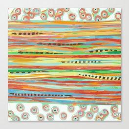 stripes & striped Canvas Print