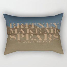 Make Me... Rectangular Pillow