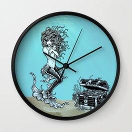 Sea Treasures ll Wall Clock