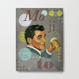 mojito Metal Print