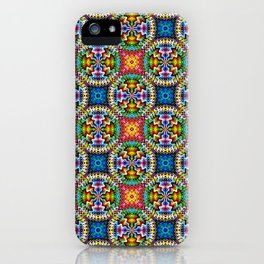 Native American Fashion Pattern Four iPhone Case