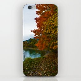 Fall Colours Along the Columbia River in Revelstoke BC iPhone Skin