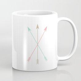 Minimal Colored Arrows Coffee Mug