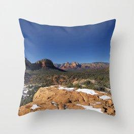 Sedona Wilderness Throw Pillow