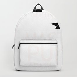 Public Administration Graduation Gift Print Backpack