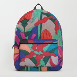 Bold Garden Night Party Backpack
