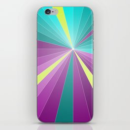 Rays abstract iPhone Skin