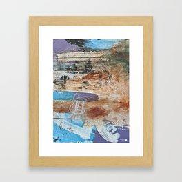walls #5 Framed Art Print