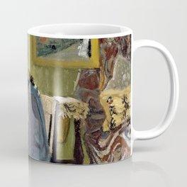 Felix Edouard Vallotton - Woman Writing In An Interior - Digital Remastered Edition Coffee Mug